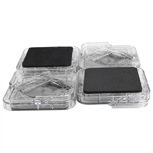 Santing Protectores de plástico para Patas de Muebles, Pinzas Resistentes para Muebles, sofá para Silla de Escritorio(Transparent Color)