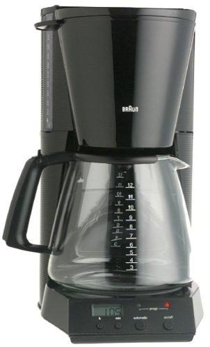 Braun KF180-BLK FlavorSelect 12-Cup Coffeemaker, Black