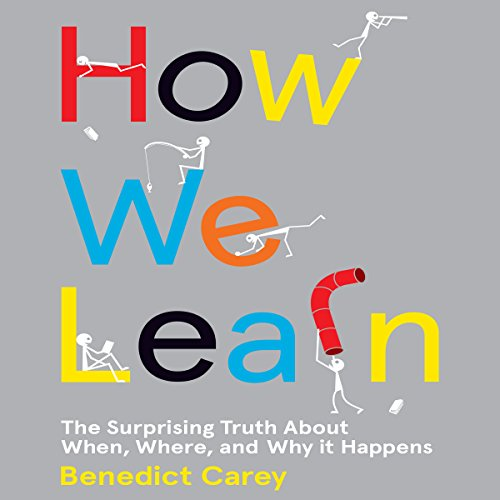 How We Learn audiobook cover art