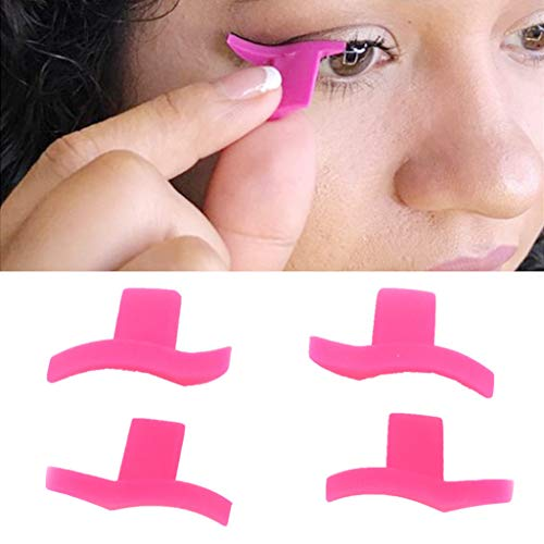 cuigu 2pcs/par de ojo de gato alado Eyeliner modelo sellos sellos de silicona (ala forma profesional maquillaje cosmética herramientas de plantilla