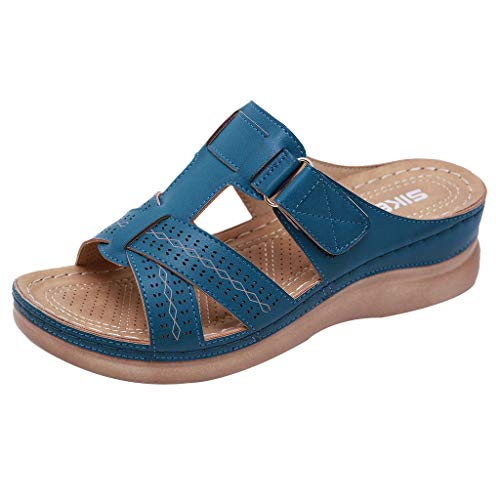 Compensee Sandales Fille de 1 3 Bain Tongs Sabot Medical Sandales Tongs Roue Nubuck Chaussures...