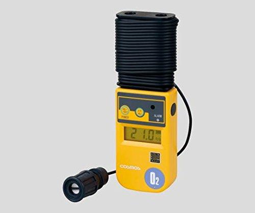 新コスモス電機 酸素濃度計(投げ込み式) 10m(本体巻取式) XO-326�UsC 校正証明書付 XO-326IIsC