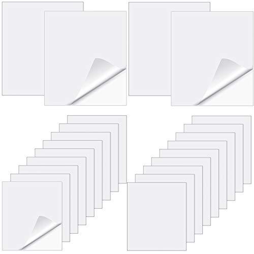 Kit de 20 Parches de Reparación Inflable de TPU Herramienta Autoadhesiva de Parche de Piscina de Plástico Parche de Colchones de Aire Herramienta de Reparación para Juguete Inflable