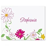 Fresh Breeze Personalized Note Cards with White Envelopes by Colorful Images (Set of 12)