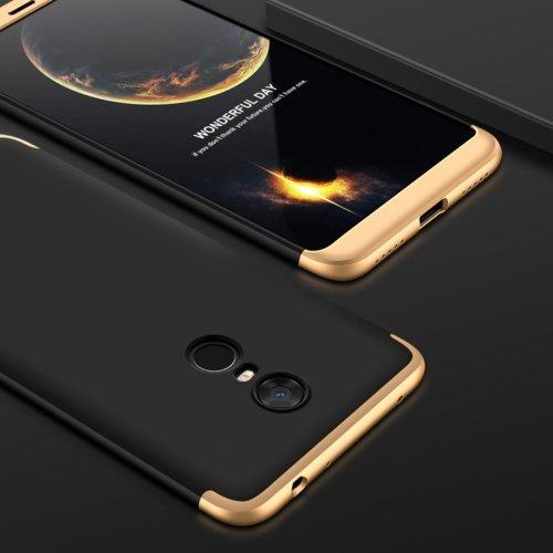 alsatek kunststof beschermhoes voor Xiaomi Mi 5 Plus plafond beschermlaag achterkant zwart