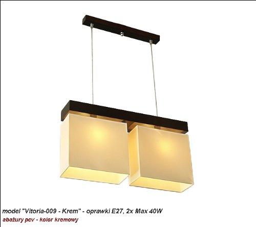 wero Design Lustre Suspension Lampe suspension de Vitoria-009 Crème