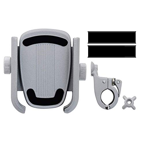 Dispositivos del soporte del teléfono de la bicicleta 360DEP; Rotación, anti-vibración, antideslizante, abrazadera de liberación rápida, sin herramientas de instalación adecuadas para la instalación d