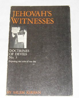 Testemunhas de Jeová (Sua Doutrina dos Diabos)