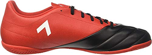 Adidas Herren Ace 17.4 in BB1767 Futsalschuhe, Rot (Rojo/ftwbla/negbas), 43 1/3 EU