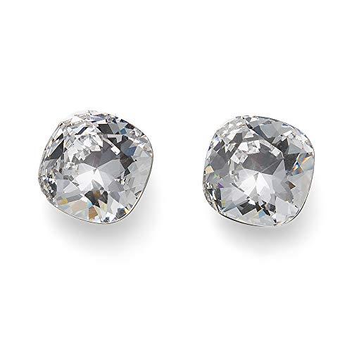 OLIVER WEBER | Ohrstecker Walk Edelstahl crystal | DAMEN | veredelt mit Kristallen von Swarovski® | Designed in AUSTRIA | 22858 001