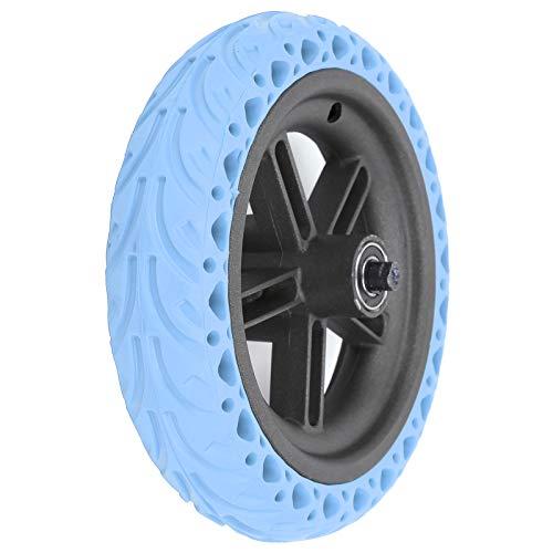 Redxiao 【𝐎𝐟𝐞𝐫𝐭𝐚𝐬 𝐝𝐞 𝐁𝐥𝐚𝐜𝐤 𝐅𝐫𝐢𝐝𝐚𝒚】 Rueda Trasera de Scooter eléctrico Fuerte y Duradero, neumático Trasero de Scooter eléctrico, neumático Trasero para X-iaomi Pro(Blue)