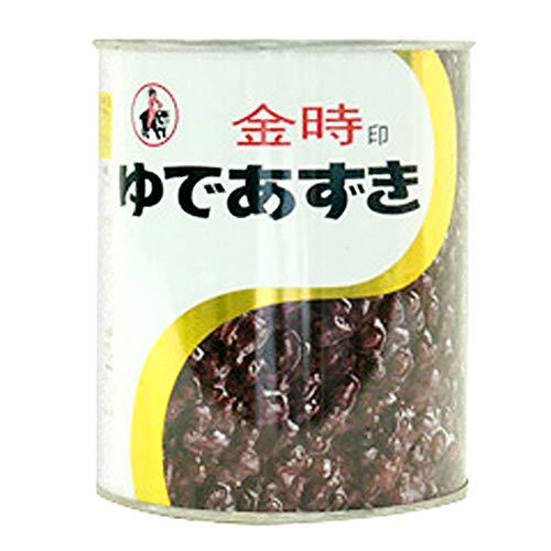 【 業務用 】 山清 金時印 ゆであずき 2号缶 小豆 小倉 あずき