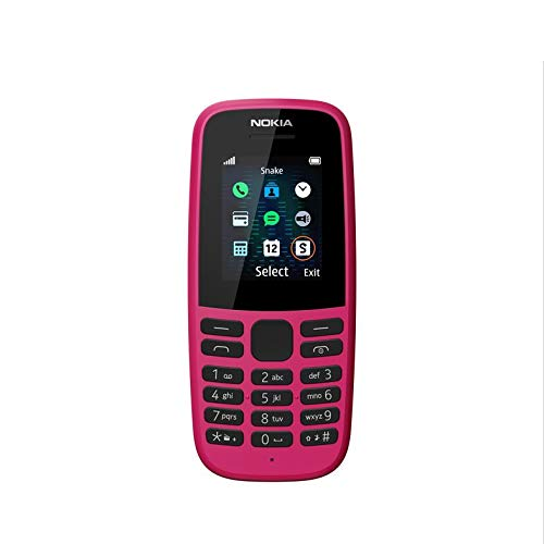Nokia 105 2019 (Single SIM, Pink)