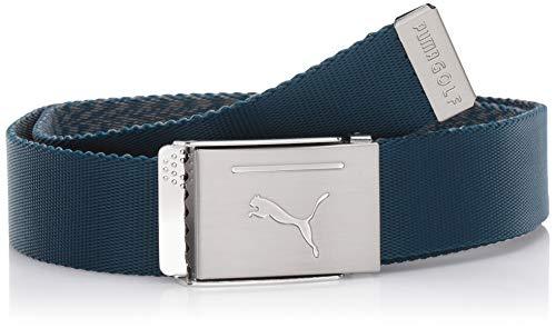 white puma golf belt