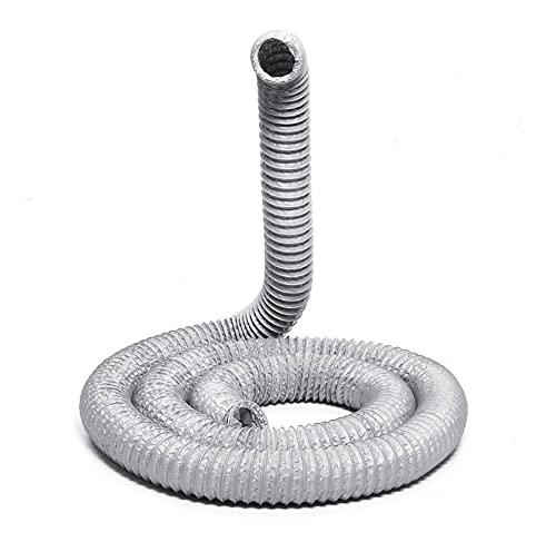 yaoqijie 1,5 / 3/6 metri tubo di scarico flessibile condizionatore flessibile tubo di scarico tubo del tubo flessibile per tubo flessibile per tubo di ventilazione 100mm di ventilazione del tubo di sf