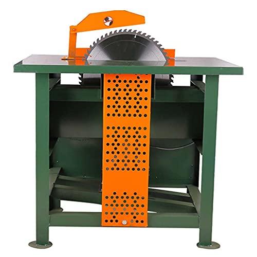 Macro Sección de carpintería Saw Sierra monofásica Mesa de Empuje Push Máquina...