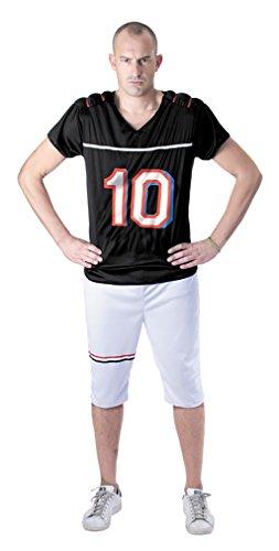 Party Pro disfraz futbolista americano, Mens, 865138, talla M/L