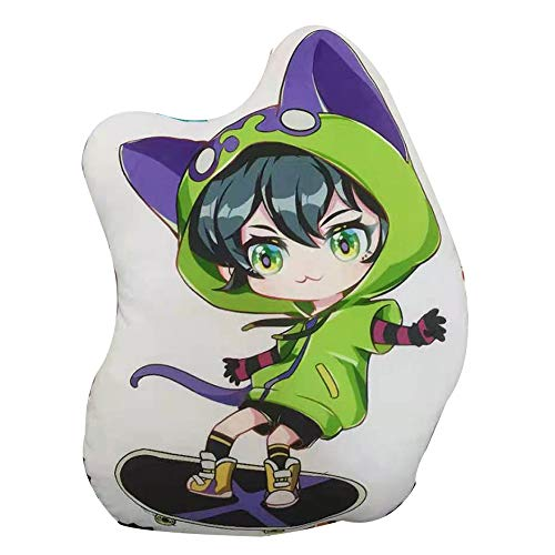 Bftelly Anime Plushies for SK8 The Infinity Miya Chinen Cute Plush Toy Pillows Stuffed Figure Throw Pillows Plush Back Cushions Gifts for Teens Boys Girls -  TB002-SK8 the Infinity Miya Plush Toys