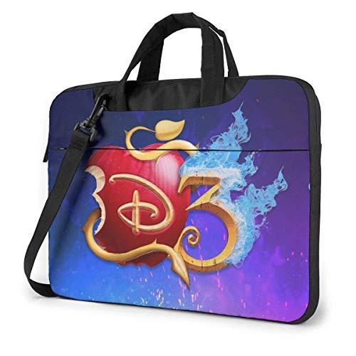 Whecom Descendants 3 14 Inch 13-inch 14-inch Laptop Bag 15.6-inch Laptop Shoulder Messenger Bag Handbag