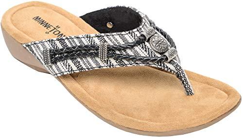Minnetonka Women's Silverthorne Thong Sandal