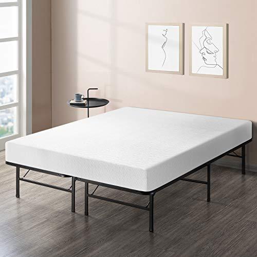 Best Price Mattress 8' Comfort Premium Memory Foam Mattress and Platform Bed Set - Full