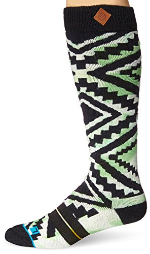 Stance Zig Zag Snowboard Socks Green 42-47