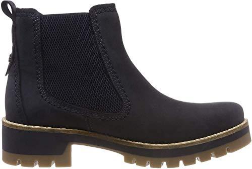 camel active Damen Diamond 72 Chelsea Boots, Blau (Denim 3), 40.5 EU