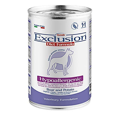 Exclusion Diet Hypoallergenic Pesce e Patate 12,5 kg