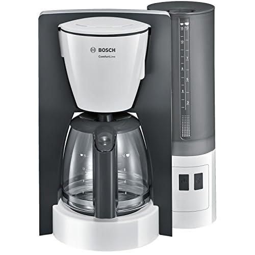 Bosch ComfortLine Macchina da caffè con Filtro, Plastic, Bianco