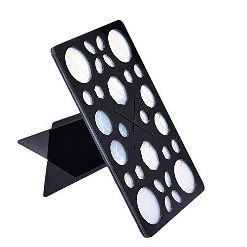 Etendoir Plastique Mode Acrylique Arbre Pinceaux de Maquillage Titulaire pour Pinceaux de Maquillage Sécheuse pour Brosse à Maquillage
