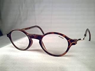 Unisex-Adult Classic Magnetic Classic Reading Glasses Smoke Oval Reading Glasses