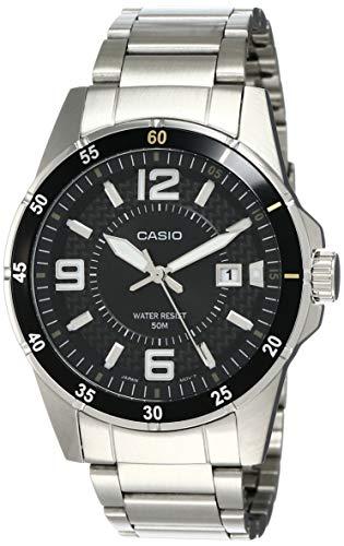Casio Enticer Analog Black Dial Men's Watch