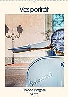 Vesportraet (Premium, hochwertiger DIN A2 Wandkalender 2022, Kunstdruck in Hochglanz): Eine faszinierende Reise in der Evolution der Vespa. (Monatskalender, 14 Seiten )
