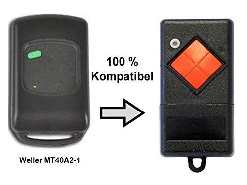 Ersatz Handsender für Weller MT40A2-1 Dickert MAHS40-01 40,685 MHz. AM