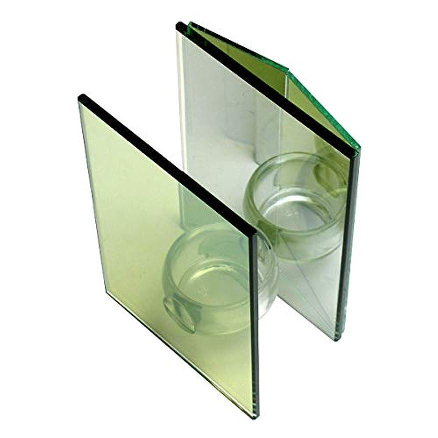 利用可能発信ほこりっぽい無限連鎖キャンドルホルダー ダブルミラー ガラス キャンドルスタンド ランタン 誕生日 ティーライトキャンドル