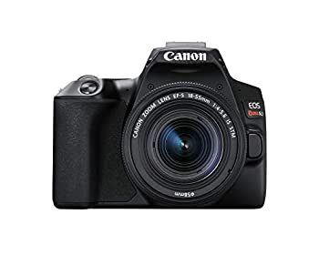 Canon EOS REBEL SL3 Digital SLR Camera with EF-S 18-55mm Lens kit Built-in Wi-Fi Dual Pixel CMOS AF and 3.0 Inch Vari-Angle Touch Screen Black