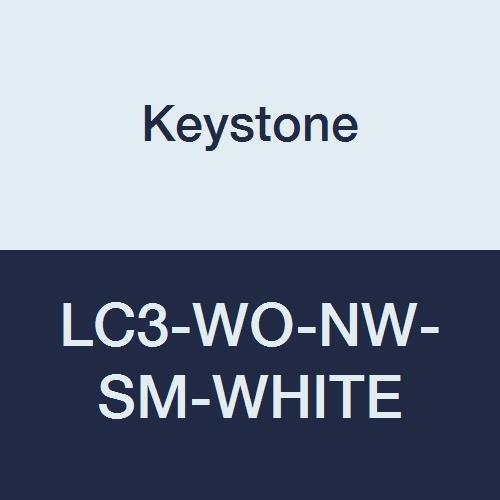 Keystone Directly managed store LC3-WO-NW-SM-WHITE Polypropylene Lab Rare 3 O Coat Pockets
