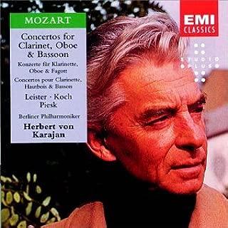 Mozart: Concertos for Clarinet, Oboe & Bassoon, K. 191,314,622