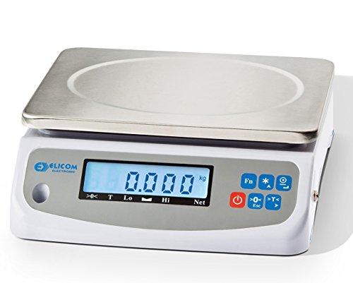 Elicom PK GEEICHT, 3/6 kg, Teewaage, Kaffeewaage, Imkerwaage, Honigwaage