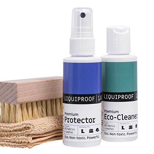 Liquiproof® Clean & Protect Kit 50ml Schuhputzsets, Weiß (White), 50.00 ml