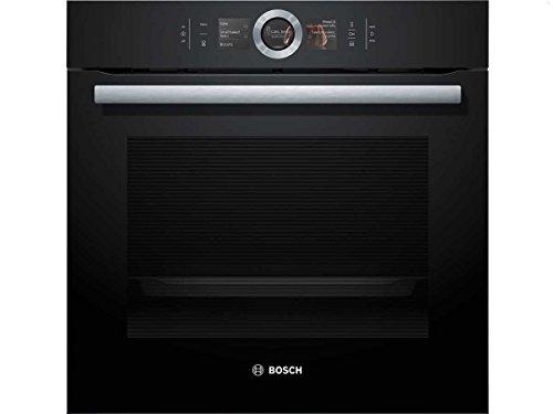 Bosch HSG636BB1 Serie 8 Backofen Elektro / A / 71 L / 4D Heißluft / Dampfbackofen / Assist-Funktion / schwarz