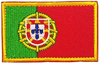 Cobra Tactical Solutions Bandera Portugal Parche Bordado Táctico Moral Militar con Cinta adherente de Airsoft Paintball para Ropa de Mochila Táctica: Amazon.es: Hogar