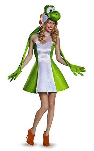 Disguise Damen Yoshi-Kostüm - Grün - X-Large