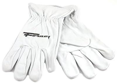 Forney Work Gloves, Unlined Goat Skin, White