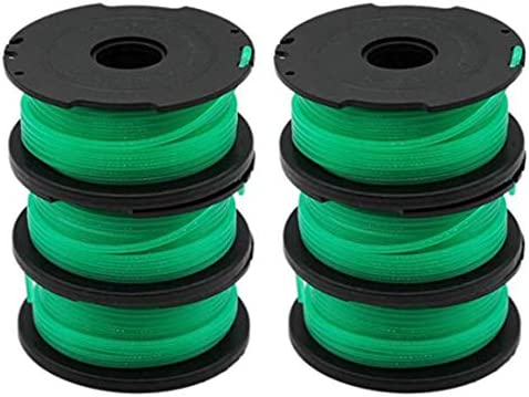Huante 6 Stks Onkruid Eater Vervanging Spoelen voor Zwart en GH3000 GH3000R LST540 LST540B String Trimmer Spool SF080
