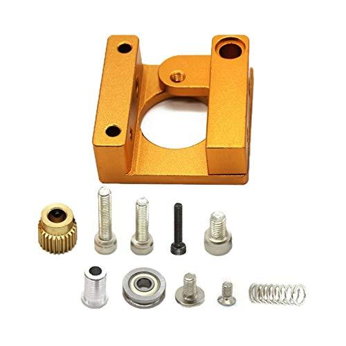 VIKTK 3D Printer Mk8 Extruder Aluminum Frame Block Diy Kit(Right Hand) Fit For Makerbot Reprap Prusa I3