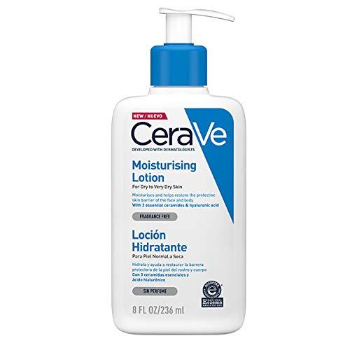 CeraVe – Feuchtigkeitslotion für trockene bis sehr trockene Haut (236 ml)