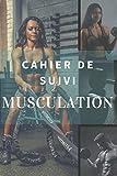 Cahier de suivi Musculation: Carnet de Notes pour mesurer ses mensurations et suivre sa progression à l'entrainement en Musculation | Notebook fun ... de Muscu | 15,24 cm x 22,86 cm | 163 Pages