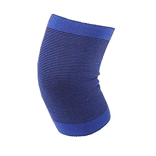 YUXIN Zhaochen 1 PCS elastisches Knie Blau Knieschoner Knie-Stützklammer-Beingelenk Elastic Bandage Unterstützung