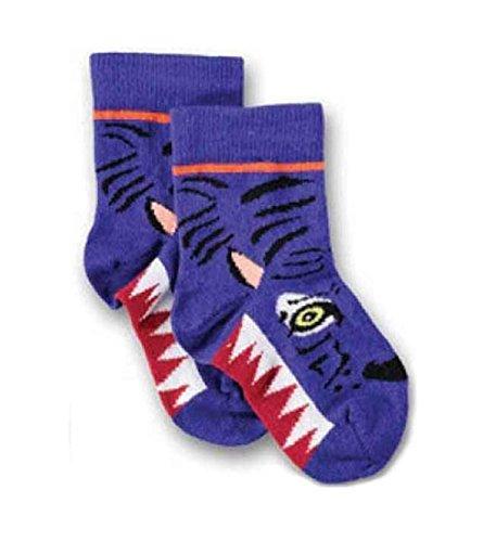 Ubang TIGER Talkie Walkie ankle - Jungen Socken blau Schuhgröße 18-20